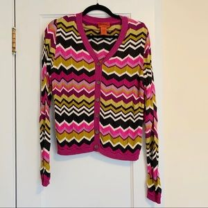 Missing for Target Button Up Cardigan Size M